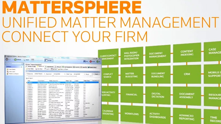 Mattersphere Matter Management video