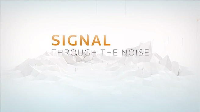 Video: Signal through the noise