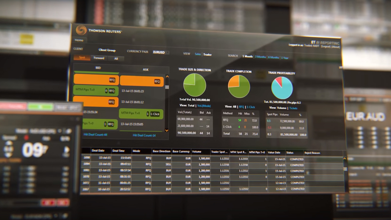 Financial solutions for financial institutions | Thomson Reuters