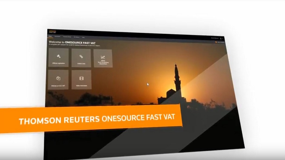 Thomson Reuters ONESOURCE Fast VAT is a complete solution for small & medium businesses in the GCC region. It is the comprehensive, fastest, easy-to-use VAT solution to file and calculate your return accurately.