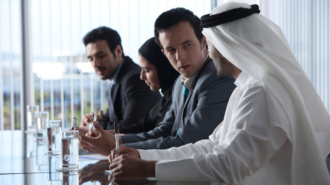 Professional services in the MENA region