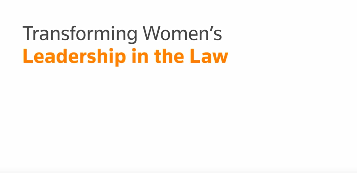 Transforming women's leadership in the law - MENA